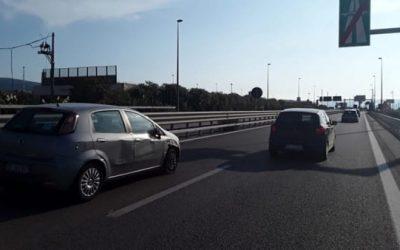 Si ferma in corsia d'emergenza per non pagare la sosta in aeroporto: Incidente sulla Palermo-Mazara