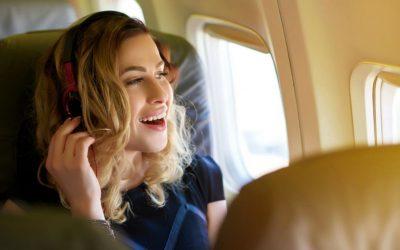 Come distrarsi in volo: idee pratiche e comode
