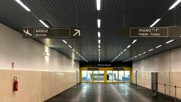 """Treno per l'aeroporto, ultimi test prima del via: """"Inaugurazione il 14 settembre"""""""