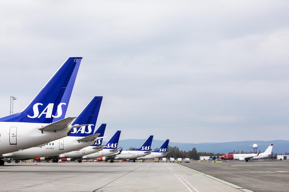 A causa di uno sciopero, la compagnia aerea scandinava SAS ha cancellato 1.200 voli
