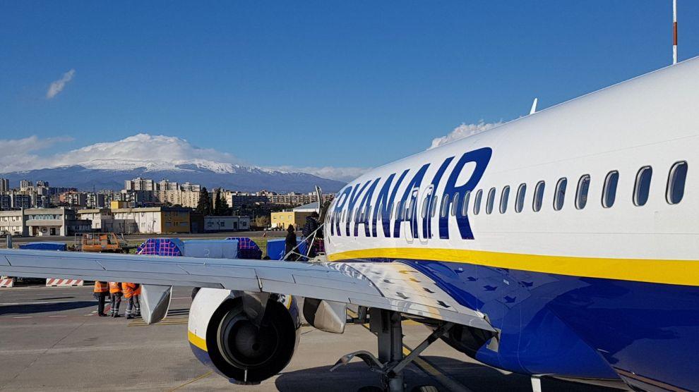 Volo Ryanair Perugia – Catania del 2 Novembre cancellato